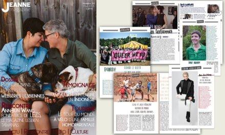Sortie de Jeanne Magazine n°50 – Mars 2018