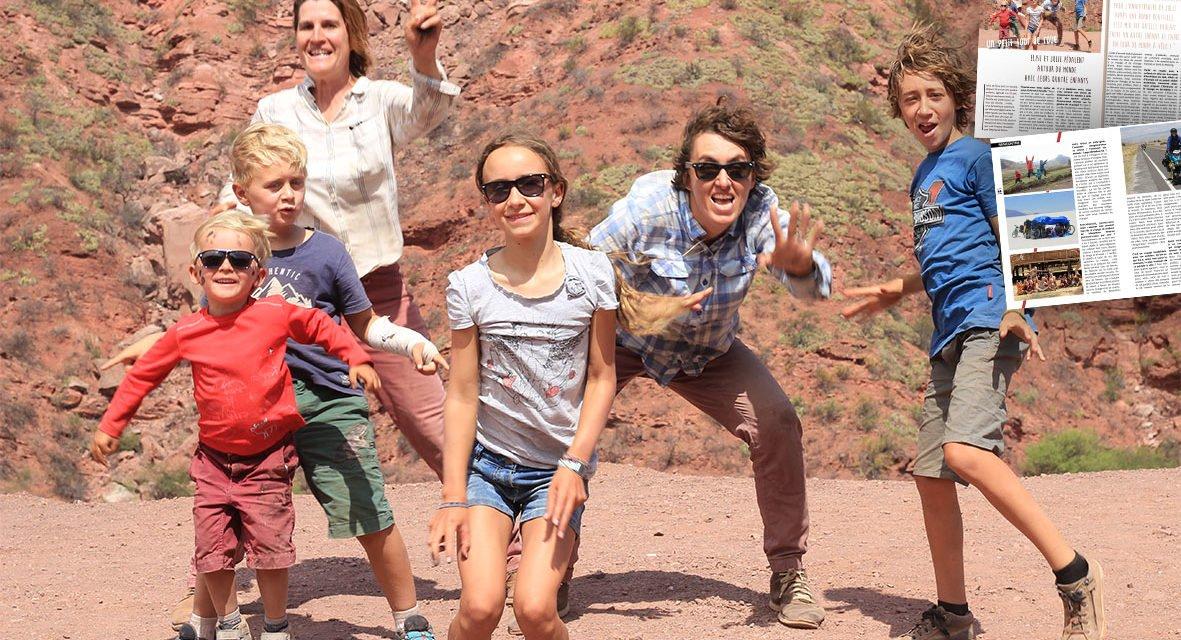 Le tour du monde à vélo d'une famille homoparentale