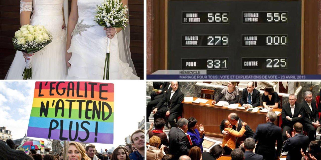 Le mariage pour tous fête ses 5 ans !