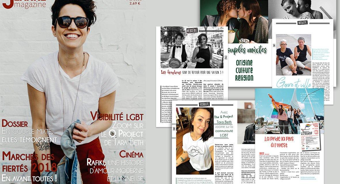 Sortie de Jeanne Magazine n°52 – mai 2018