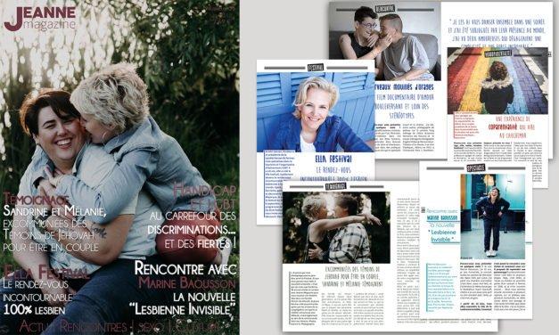 Sortie de Jeanne Magazine n°53 – juin 2018