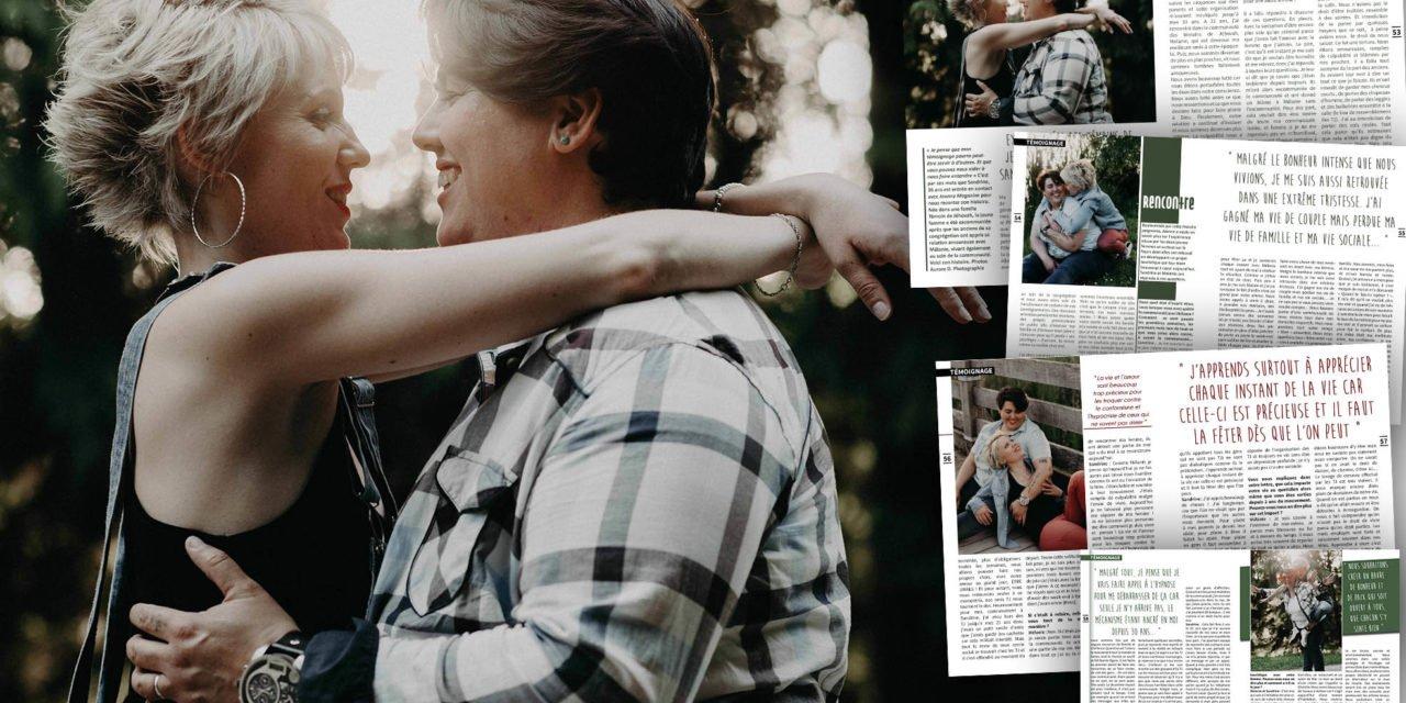 Excommuniées des Témoins de Jehovah pour être en couple, Sandrine et Mélanie témoignent
