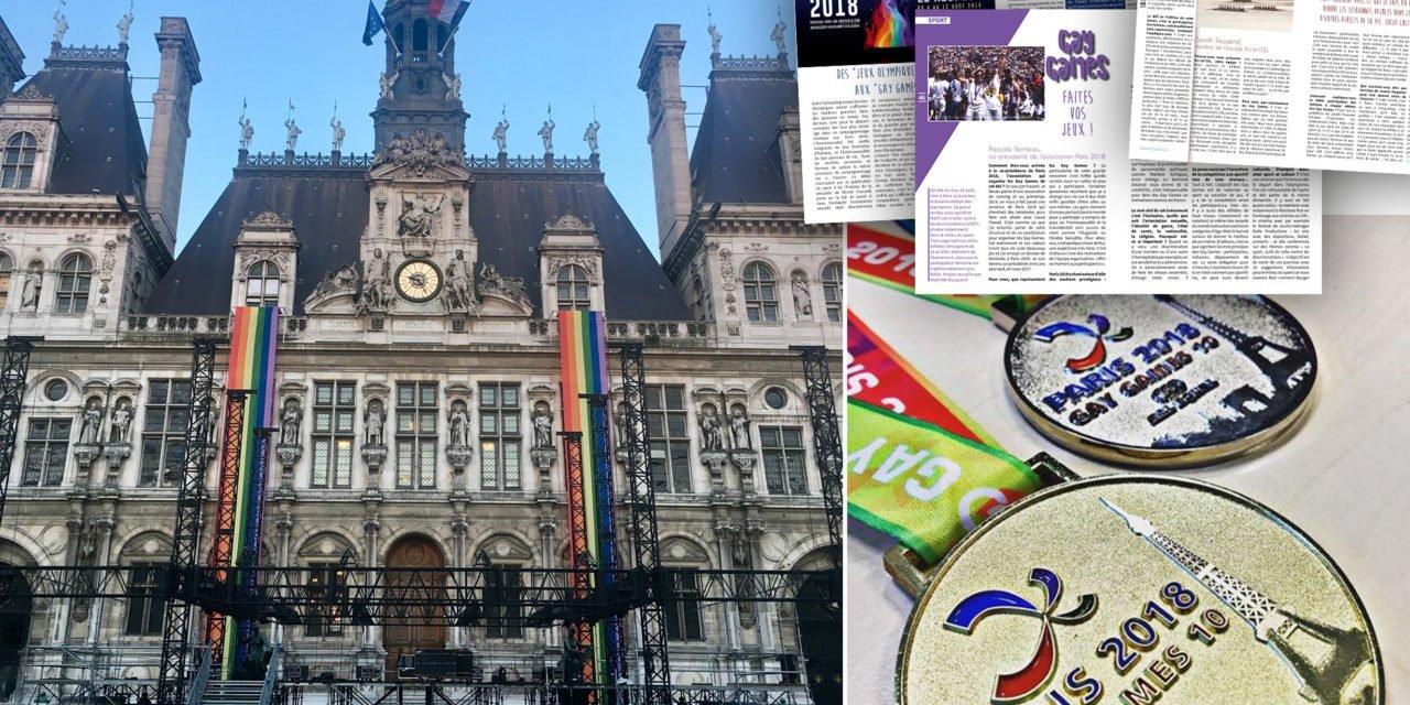 Paris accueille les Gay Games du 4 au 12 août