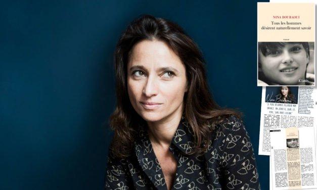 Rencontre avec Nina Bouraoui pour son nouveau roman