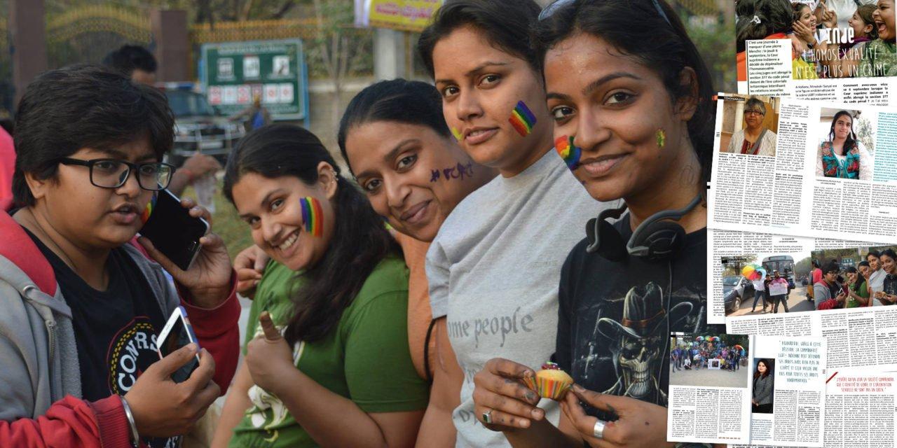 Témoignages : En Inde, l'homosexualité n'est plus un crime