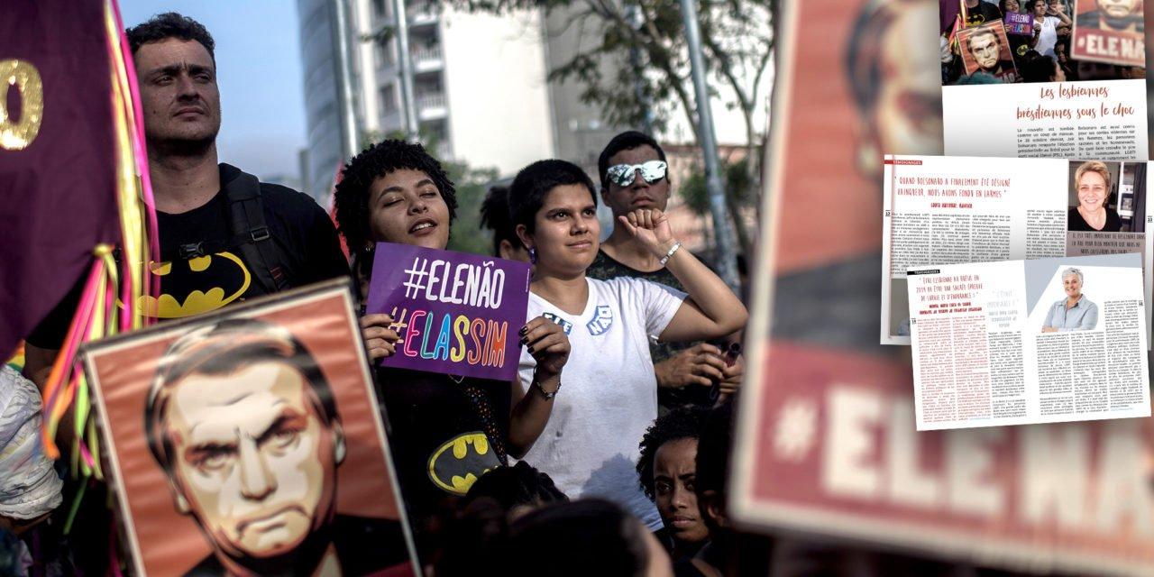 Les lesbiennes brésiliennes sous le choc après l'élection de Bolsonaro