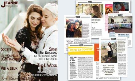 Sortie de Jeanne Magazine n°59 – Décembre 2018
