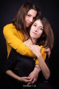 Stéphanie et Virginie - Commission Visibilité Lesbienne