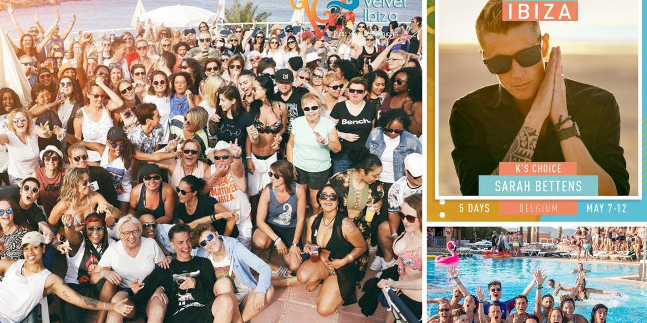 Sarah Bettens invitée de la 5è édition du festival lesbien, Velvet Ibiza