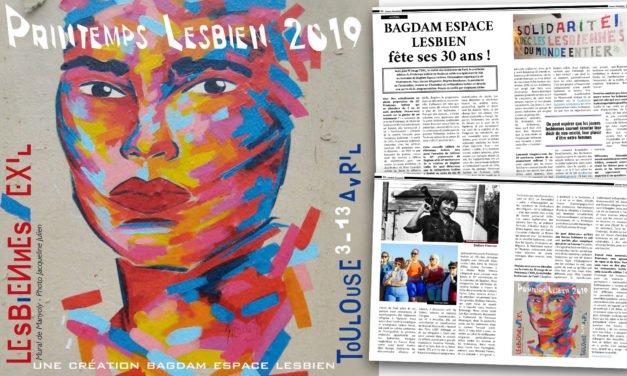 Bagdam Espace Lesbien fête ses 30 ans !