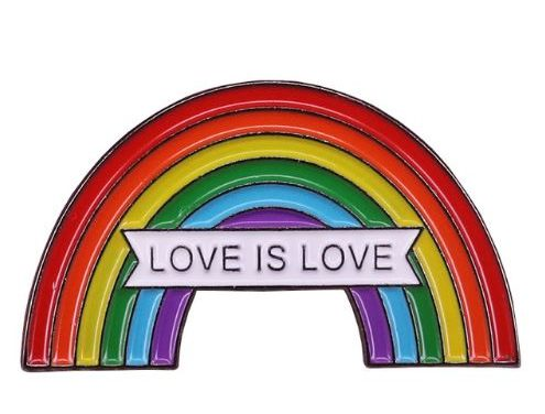Pin's rainbow