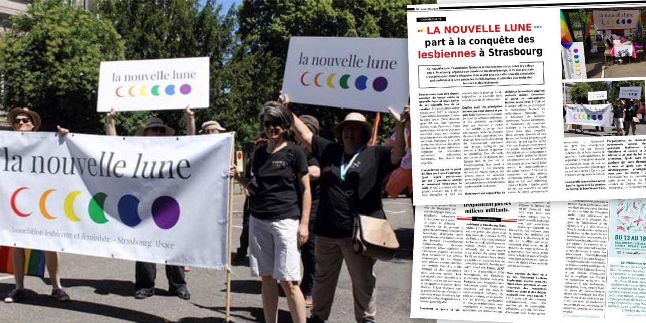 La nouvelle lune part à la conquête des lesbiennes à Strasbourg