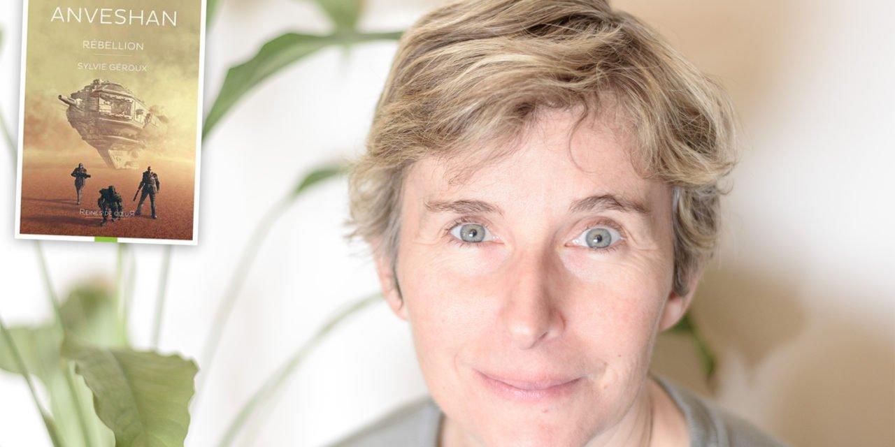 Sylvie Geroux nous présente son dernier roman «Anveshan»