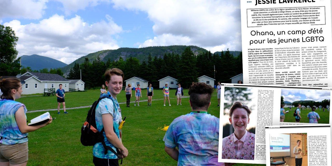 Rencontre avec Jessie Lawrence, fondatrice d'Ohana, un camp d'été pour les jeunes LGBTQ