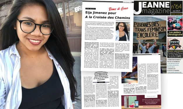 Rencontre avec Eija Jimenez pour «A la Croisée des Chemins»