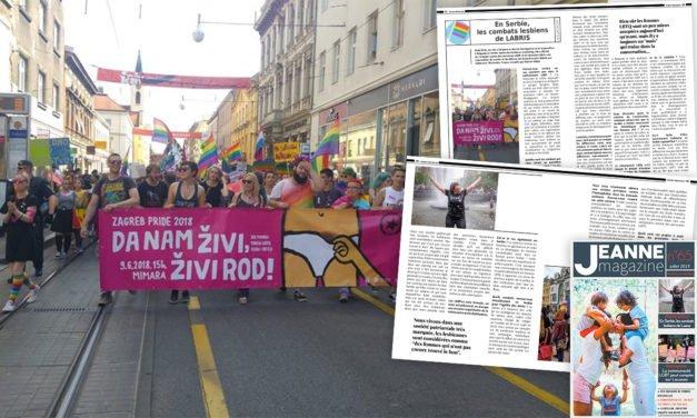 En Serbie, zoom sur les combats lesbiens de LABRIS