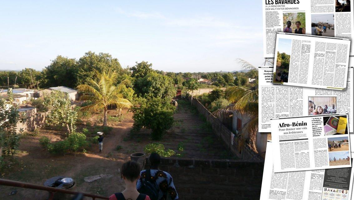 Les Bavardes à la rencontre des militantes Béninoises