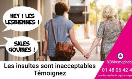 SOS Homophobie lance un appel à témoignages des femmes victimes de lesbophobie, biphobie et transphobie