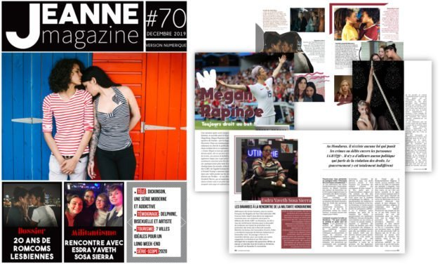 Sortie de Jeanne Magazine n°70 – Décembre 2019