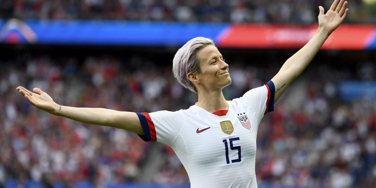 Megan Rapinoe sacrée Ballon d'Or féminin 2019