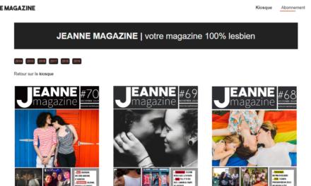Lancement du Kiosque Jeanne Magazine