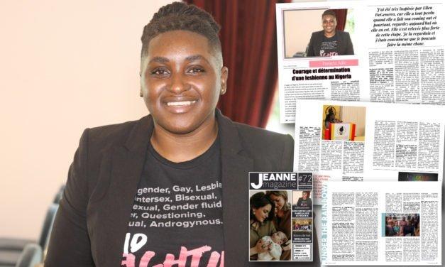 Pamela Adie : Courage et détermination d'une lesbienne au Nigeria