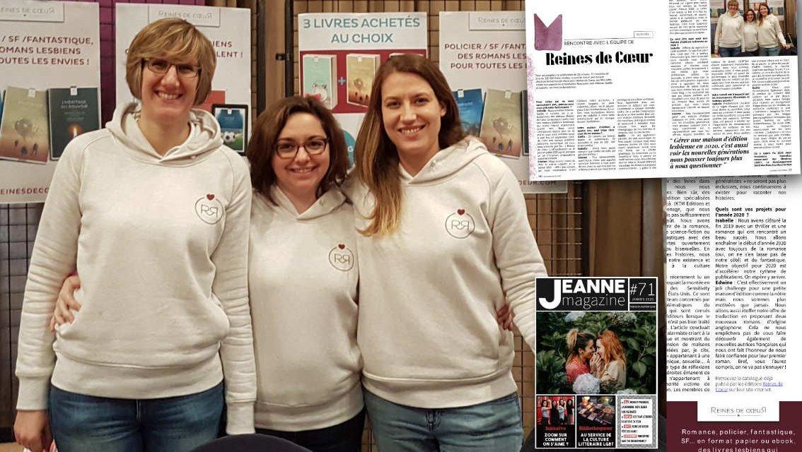 La maison d'édition Reines de Coeur fête ses 4 ans !