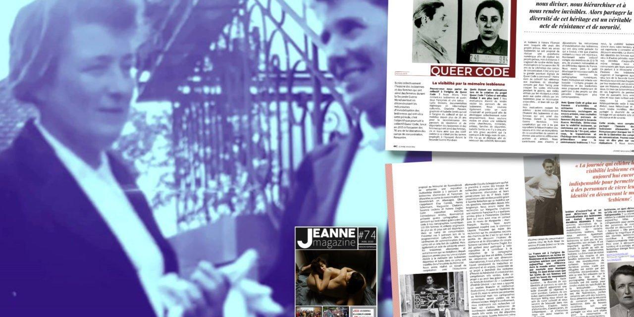 Queercode : la visibilité par la mémoire lesbienne