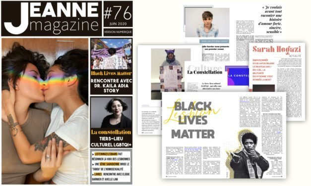 Sortie de Jeanne Magazine n°76 – juin 2020