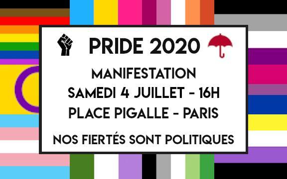 «Nos fiertés sont politiques», rendez-vous cet après-midi à Paris pour une marche militante