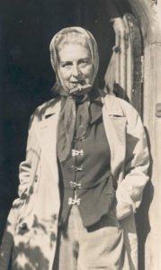 Claude Cahun le 8 mai 1945