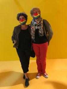 Catherine et Marie ci-fondatrices de l'association Les Culottées