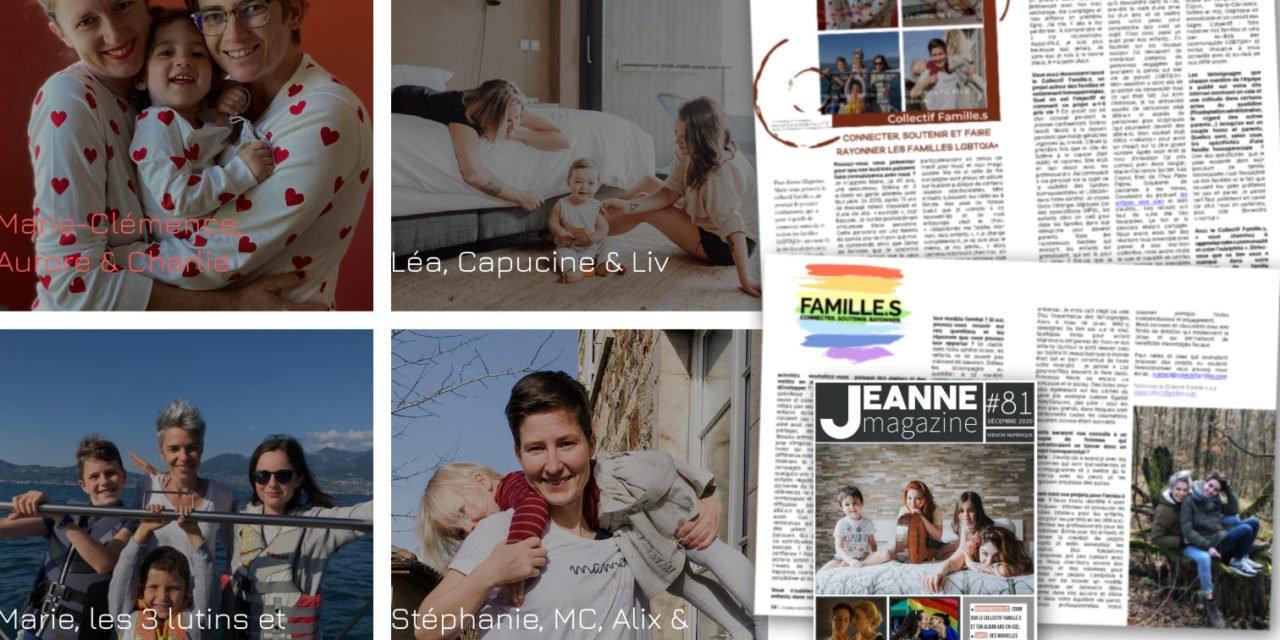 Rencontre avec le Collectif Famille.s qui souhaite connecter, soutenir et faire rayonner les familles LGBTQIA+