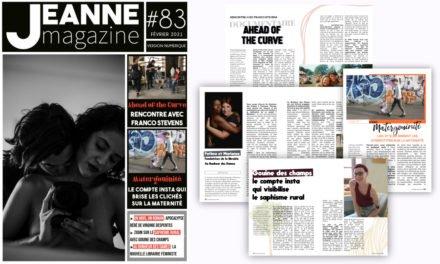 Sortie de Jeanne Magazine n°83 – février 2021