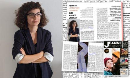 72 ans de littérature lesbienne avec Margot Lachkar