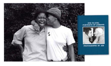 Eye to Eye : Portraits of Lesbians de JEB réédité chez Anthology Editions