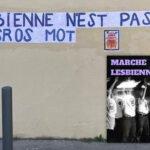 Avec le collectif Collages lesbiens, les lesbiennes sont dans la rue !