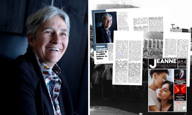 Rencontre avec Johanne Coulombe, pionnière de la visiblité lesbienne au Québec