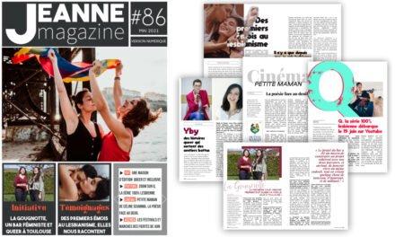 Sortie de Jeanne Magazine n°86 – Mai 2021
