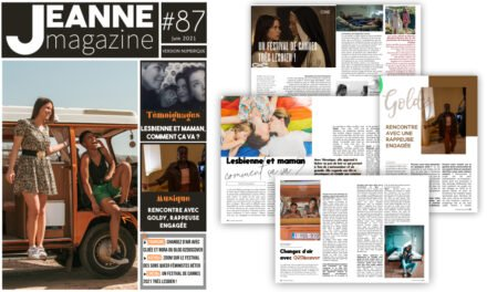 Sortie de Jeanne Magazine n°87 – Juin 2021