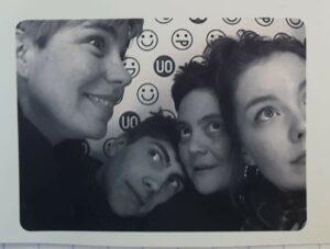 Lou, Mat, Catherine et Karine