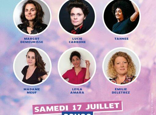Samedi 17 juillet : Soirée Humour Les Culottées au Festival OFF à Avignon
