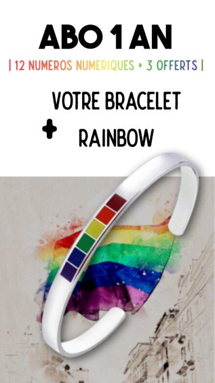 Offre bracelet rainbow Jeanne Magazine