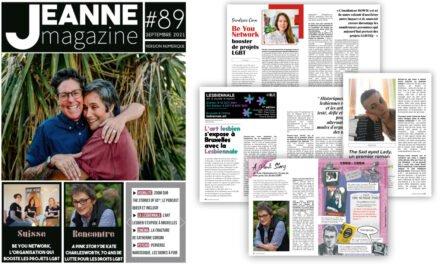 Sortie de Jeanne Magazine n°89 – Septembre 2021