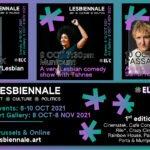 L'art lesbien s'expose à Bruxelles avec la première édition de la Lesbiennale