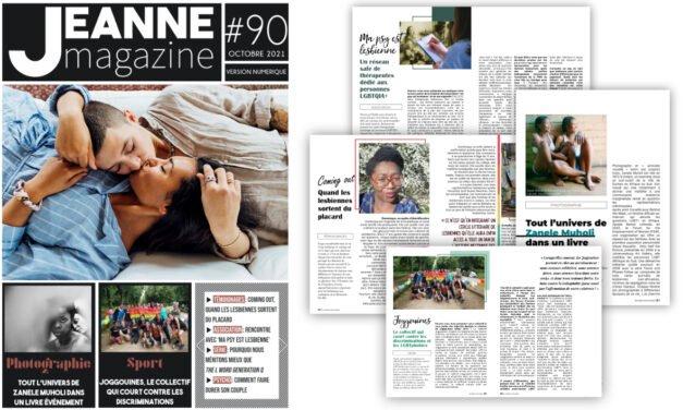 Sortie de Jeanne Magazine n°90 – Octobre 2021